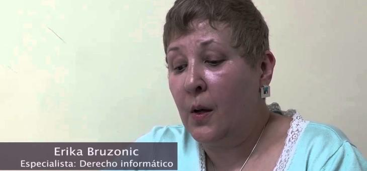 Video Entrevista Ericka Bruzonic Abogada especialista en Derecho Informático