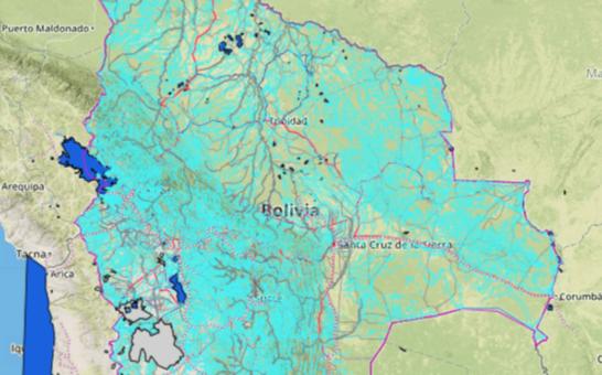 Presentan Mapa oficial actualizado del Estado Plurinacional de Bolivia